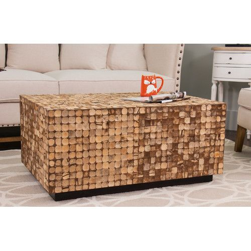 Found it at Joss Main Cassia Teak Coffee Table Living rooms