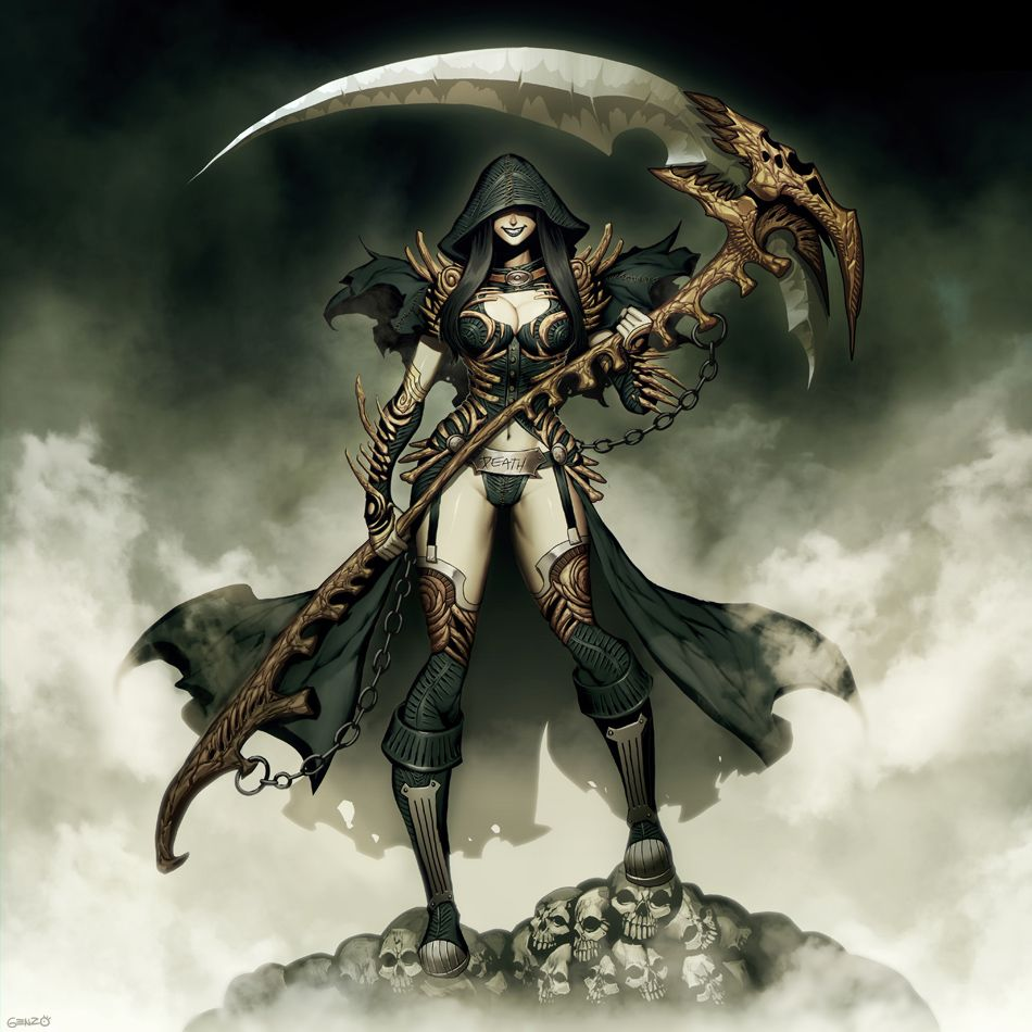 Lady Grim Reaper by GENZOMAN