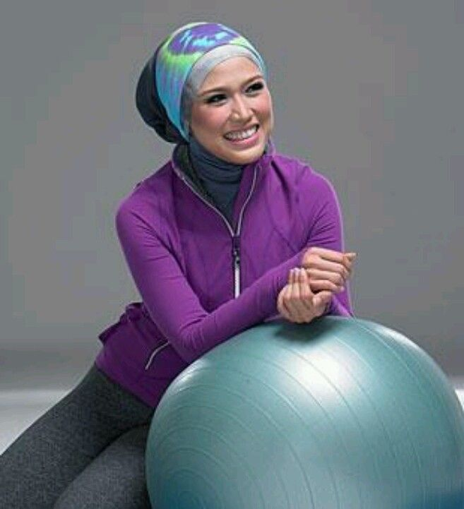 Hijab sport | Hijab - simple modest creative | Pinterest | Hijabs Sport wear and Sporty