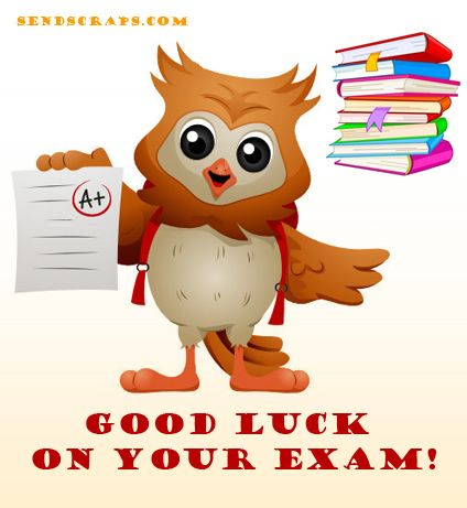 Good luck Nancy school almost OUT! Pinterest - best wishes for exams cards