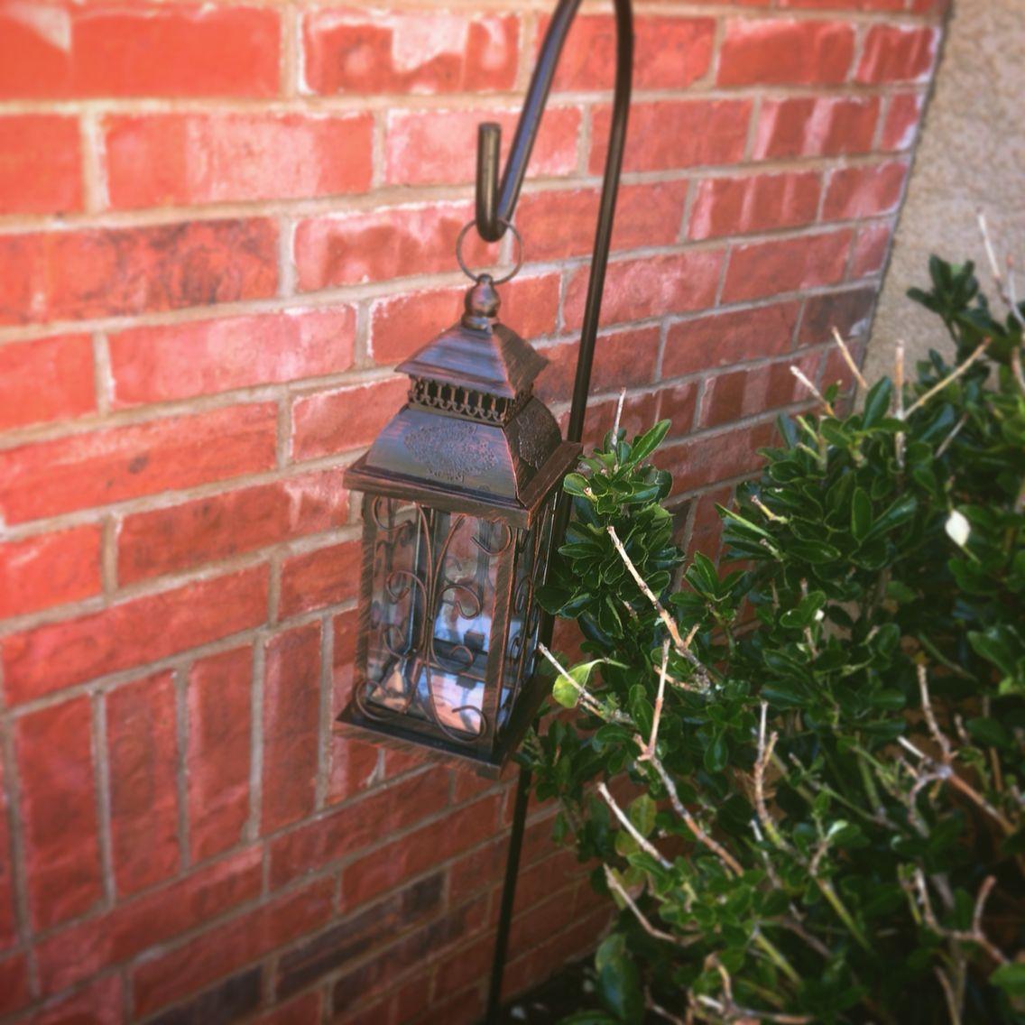 Diy Outdoor Solar Lantern Hobby Lobby Solar Light Glued