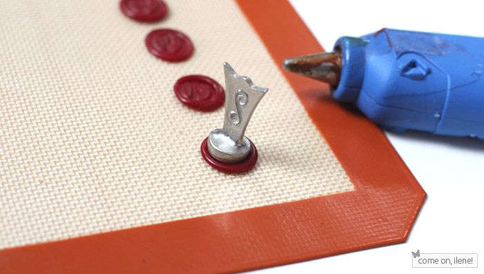 A Good Step By Tutorial On Making Wax Seals Ahead Of Time Plus