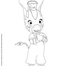 Dibujo Para Imprimir Zou La Cebra Dibujos Para Colorear Y Pintar Dibujos Para Colorear Personajes Persona Zou Paginas Para Colorear Dibujos Para Colorear