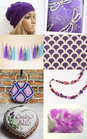 Promoting Women Purples by Ashley Presutti on Etsy--Pinned with TreasuryPin.com