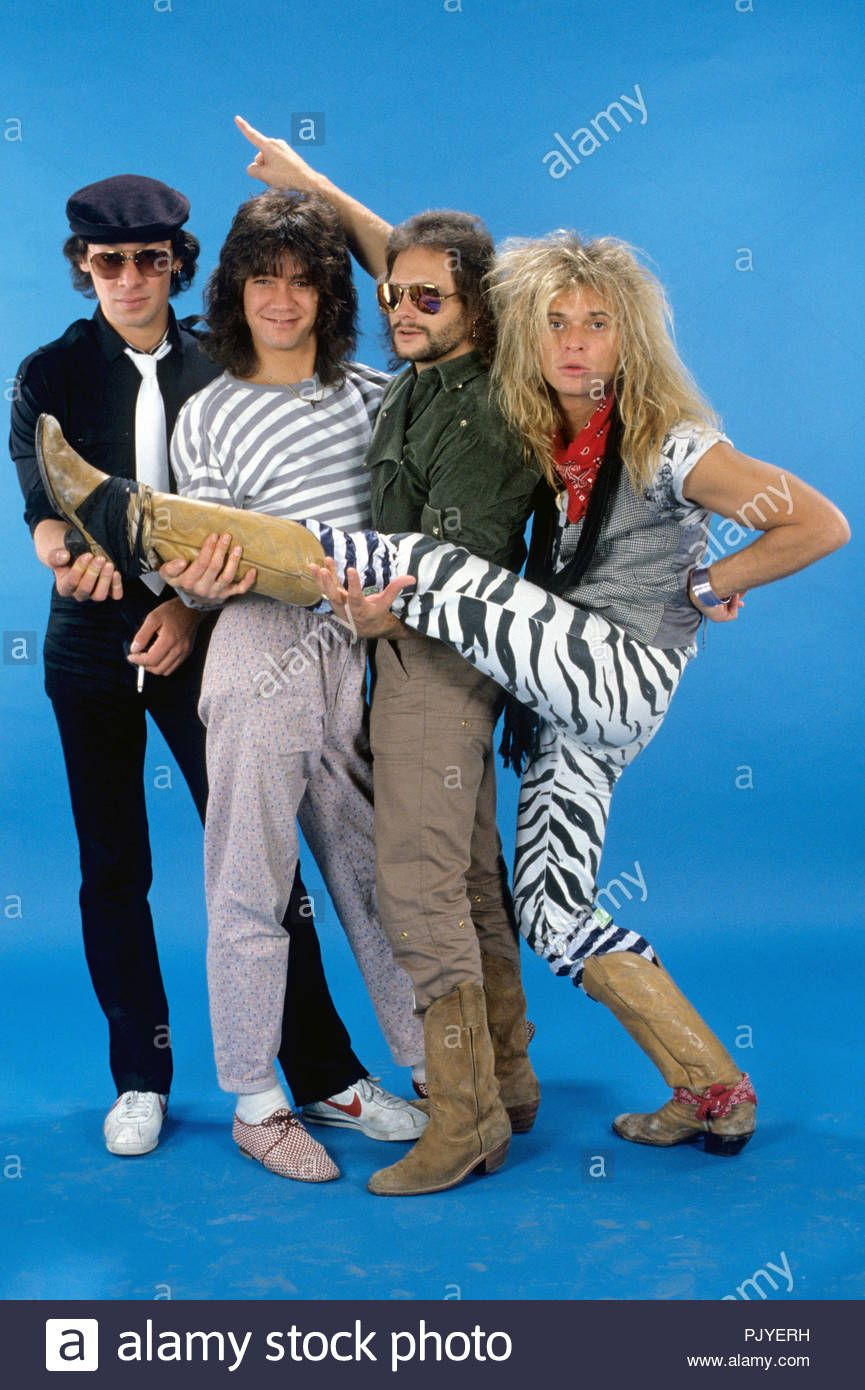 Download This Stock Image Van Halen V L Alex Van Halen Eddie Van Halen Michael Anthony David Lee Roth In 2020 Eddie Van Halen Van Halen Michael Anthony Van Halen