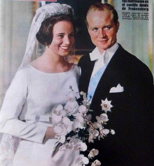 Wedding of Princess Benedikte of Denmark and Prince Richard of Sayn Wittgenstein-Berleburg