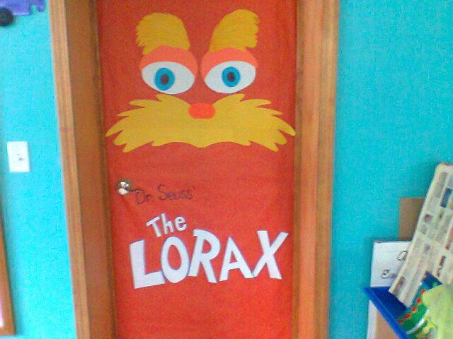 Movie Cover Door Dr Seuss Lorax Seuss Classroom The Lorax Dr Seuss Lorax