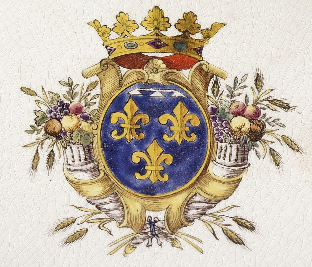 Grande Terrine En Faïence De Bordeaux Par J.vieillard, Antiquités Art et Lumières, Proantic