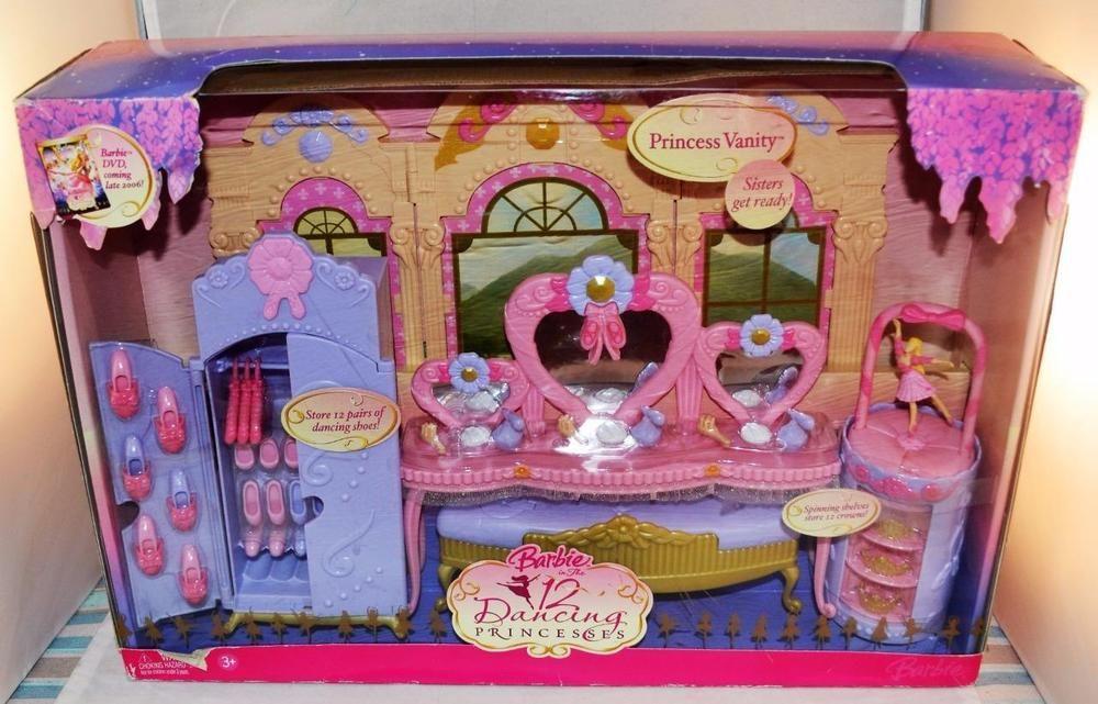 Barbie And The 12 Dancing Princesses Princess Vanity Playset