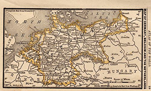 Map Of Germany And Holland.Pin By Plaindealing Prints And Maps On Maps Of The World Map