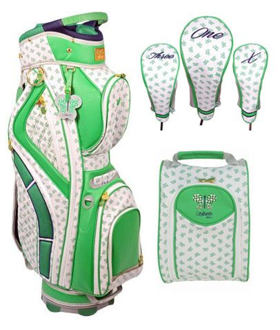 Introducing the premium Green Butterfly SPECIAL LilyBeth Ladies Designer  Golf Bag Combo. LilyBeth Golf provides high quality golf products. Its bags  ... 034954dba9