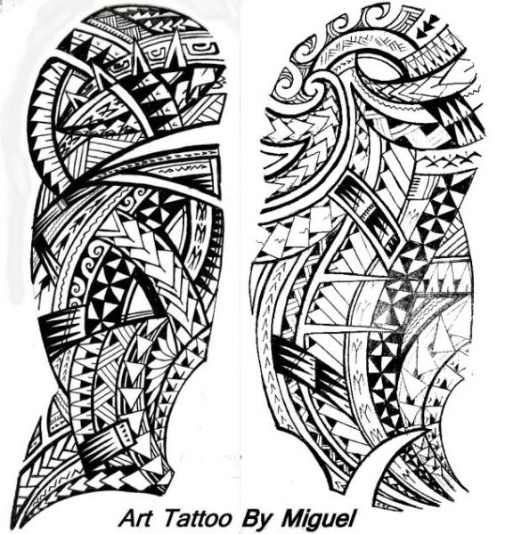 Polynesian Tattoo Designs Maori Tattoo Aztec Tribal Tattoos Maori Tattoo Designs