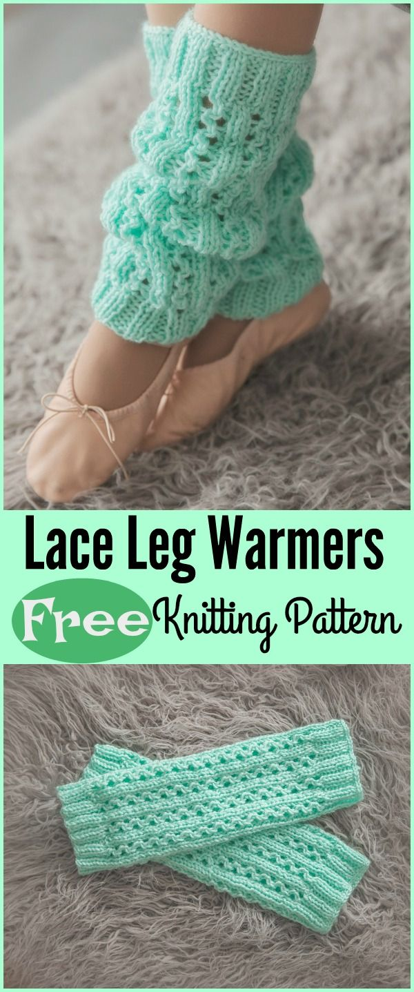 Lace Leg Warmers Free Knitting Pattern | knitting | Pinterest | Leg ...