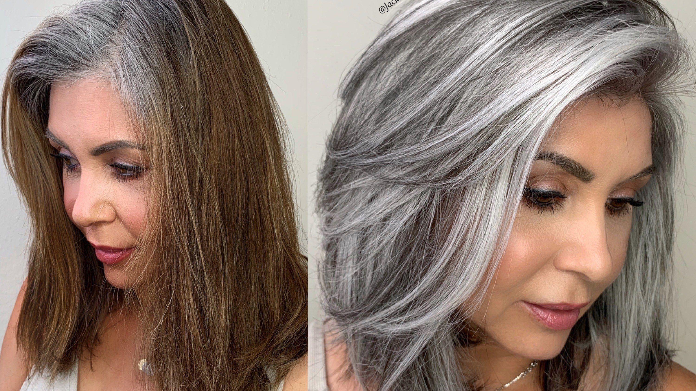 Colorist Jack Martin Breaks Down a Gray Hair Color ...
