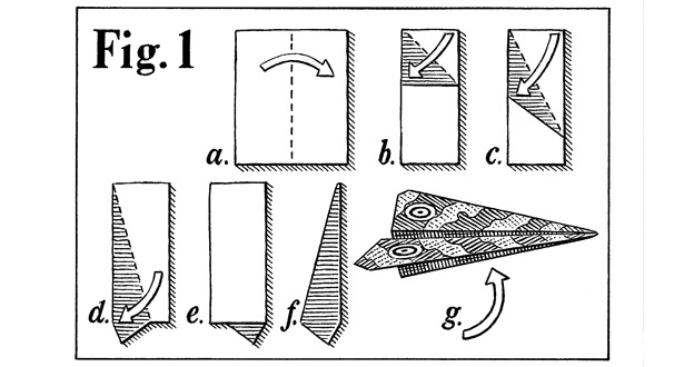 how to create paper airplane