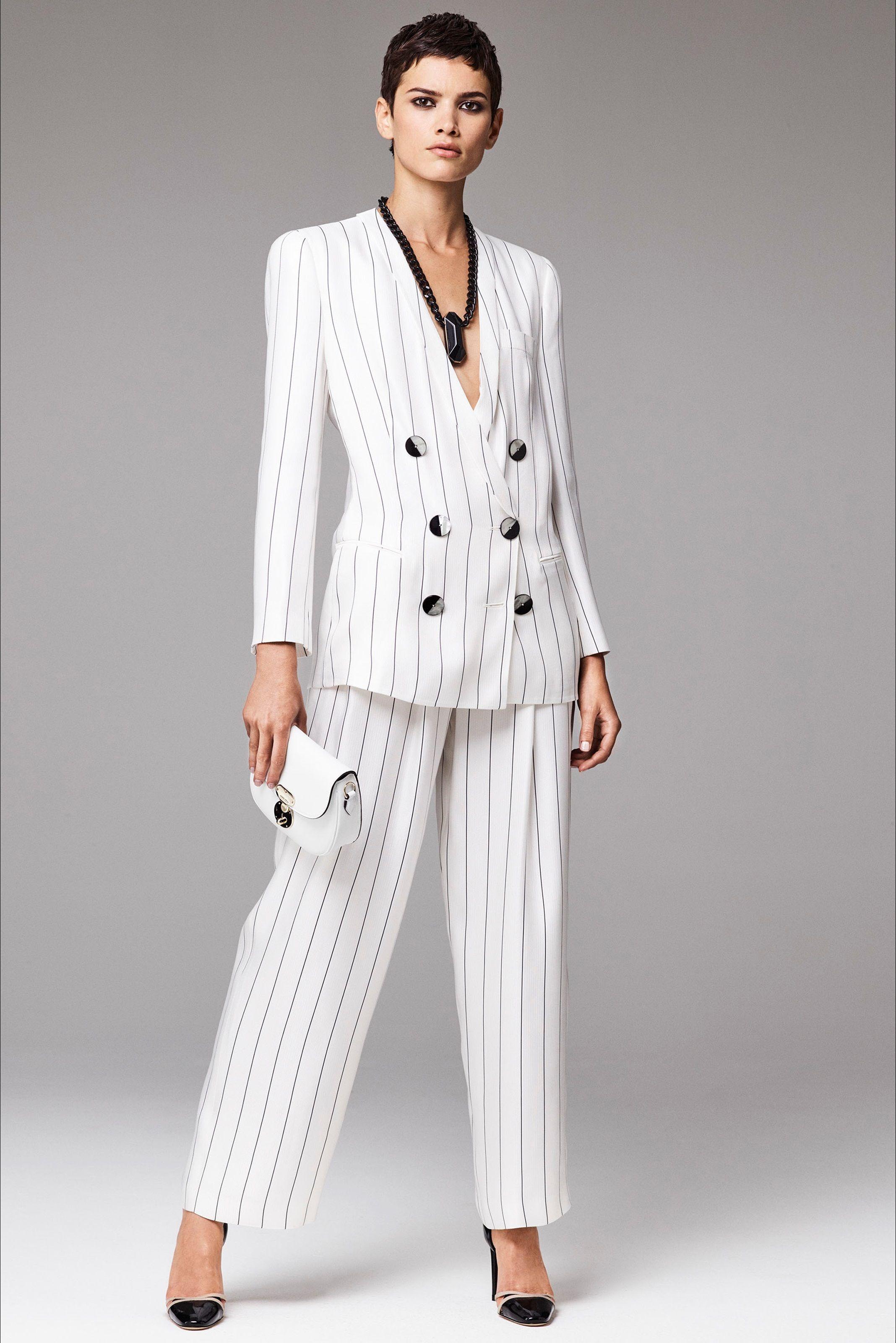 size 40 db6ed b72b8 Tailleur pantaloni di Giorgio Armani | merve | Stile di moda ...