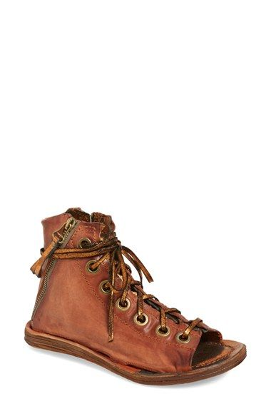 de55f251dbfc Deliciously Fugly A.S.98  Regal  Lace-Up Sandal (Women) available at   Nordstrom