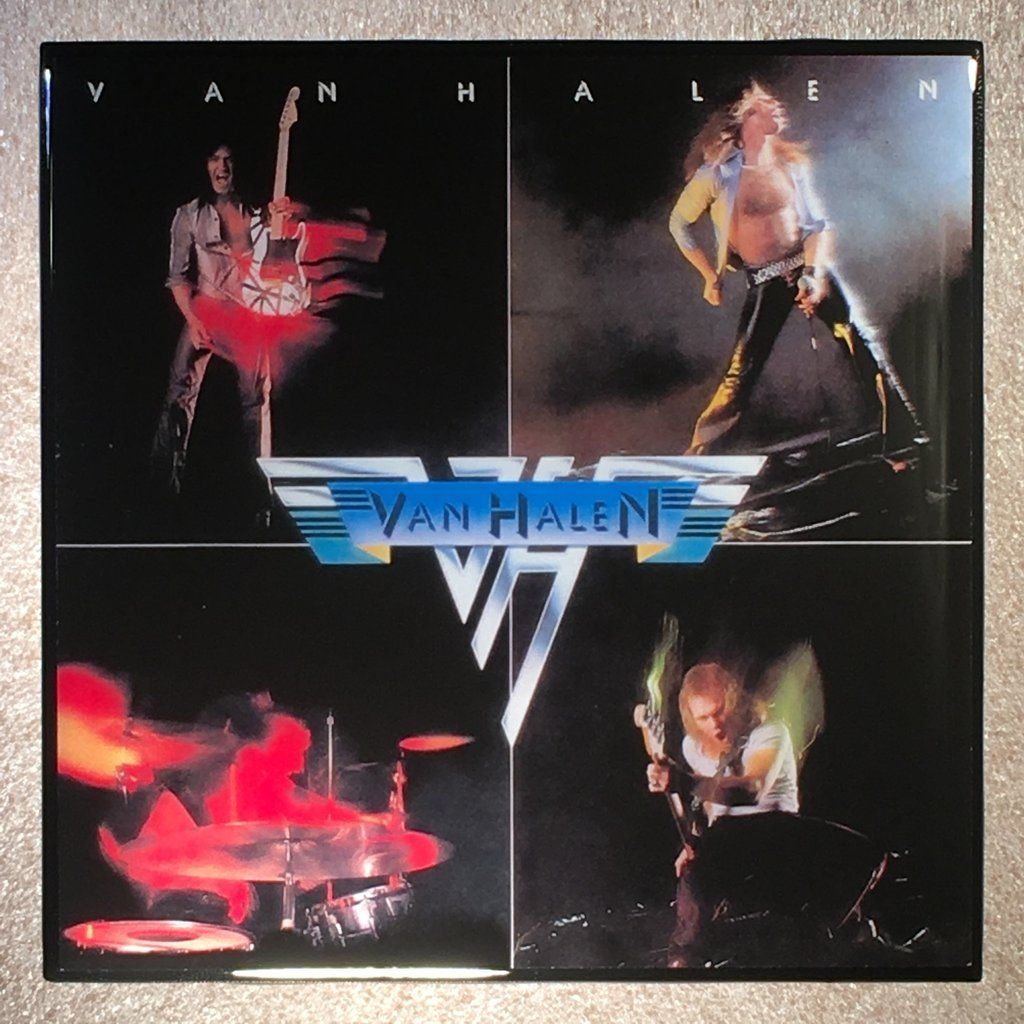 Van Halen I Coaster Custom Ceramic Tile Van Halen Greatest Album Covers Halen