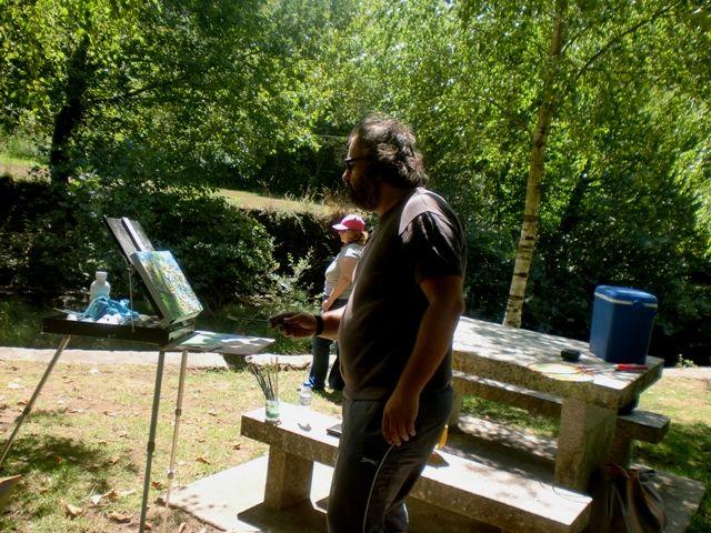 Arte Moderna & Contemporânea: Praia fluvial de Burgães em Vale de Cambra