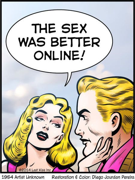Funny but Mostly for Women | By John Lustig of Last Kiss on Go Comics #