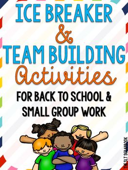 This Ice Breaker and Team Building Activities pack has been recently updated in July 2016!The pack is perfect for back to school, social skills groups and group cohesion activities! A great way to help students get to know each other in a fun and engaging way.