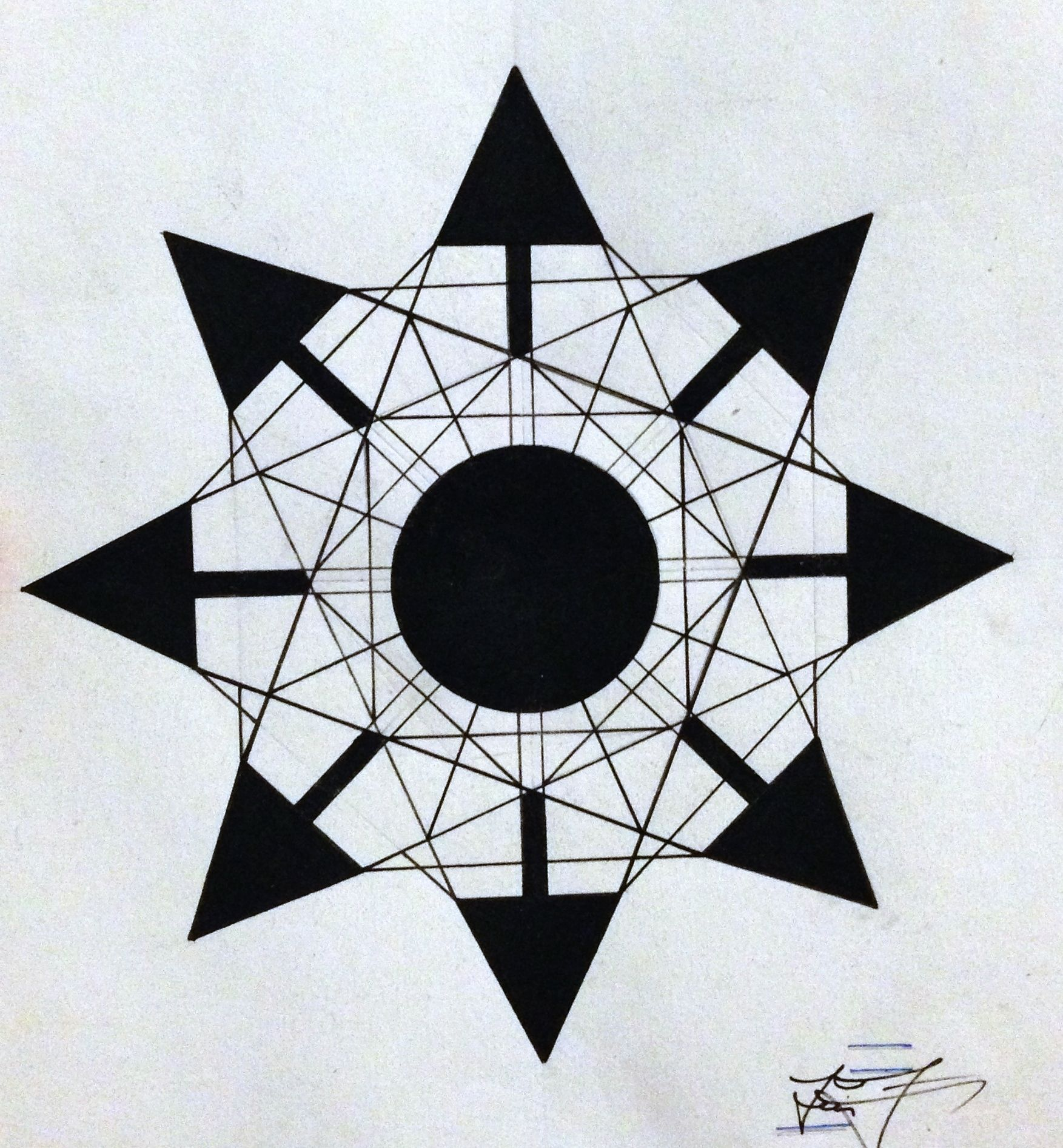 Controlled Chaos Symbol Geometric Drawings Pinterest Symbols