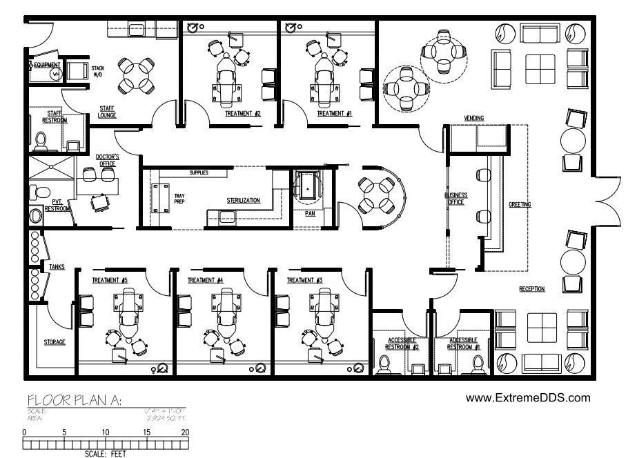 Cosmetic And Specialty Floor Plans Hospital Floor Plan Floor Plans Office Floor Plan
