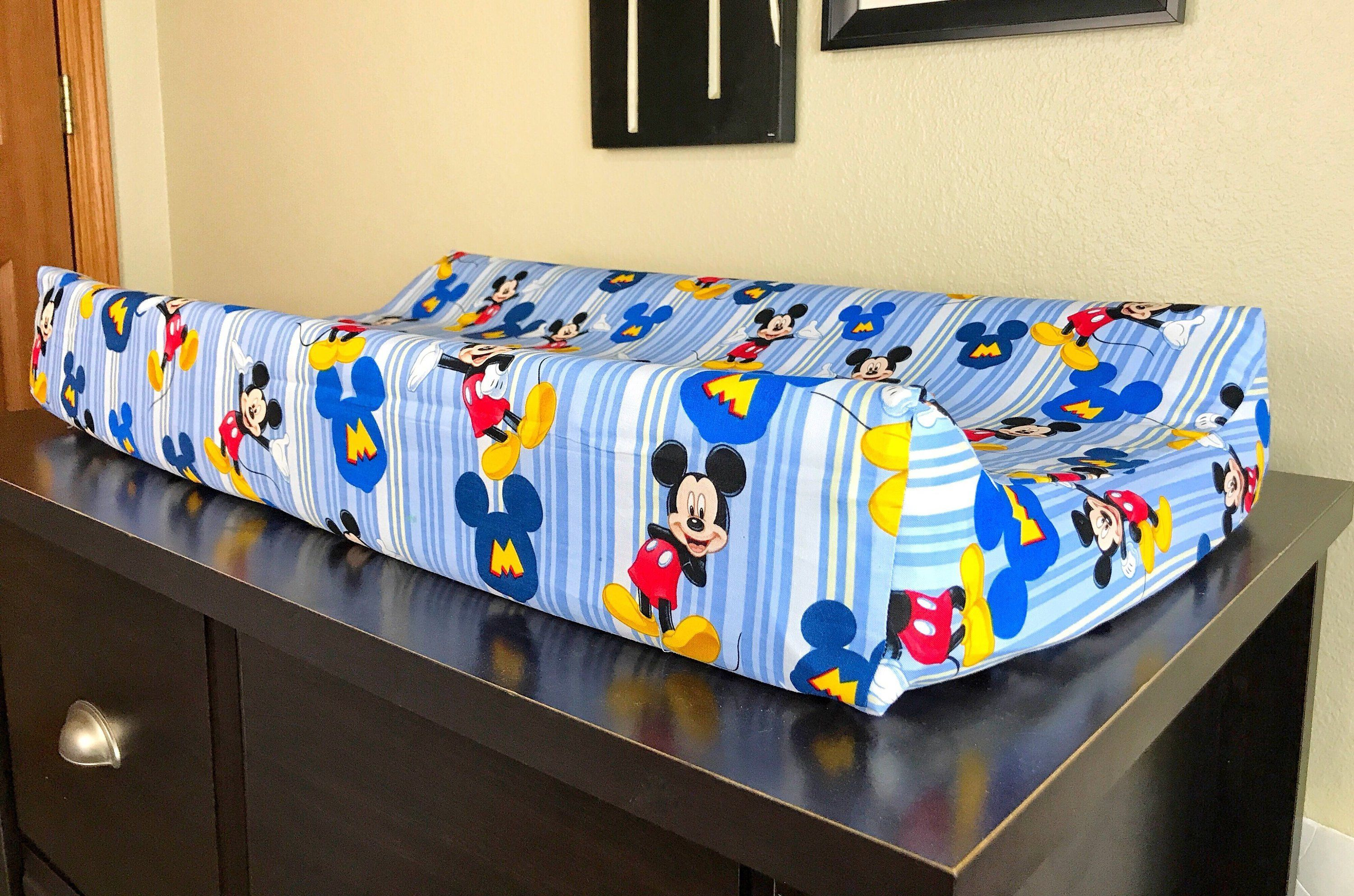 Changing pad coverdisney mickey mouse baby shower gift