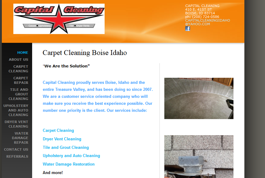 Capital Cleaning Proudly Serves Boise Idaho And The Entire Treasure Valley And Has Been Doing So Since 2007 We Are A Customer Service Best Education Health