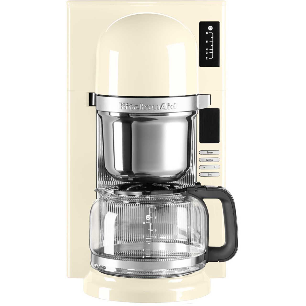 KitchenAid Pour Over 5KCM0802BAC Filter Coffee Machine