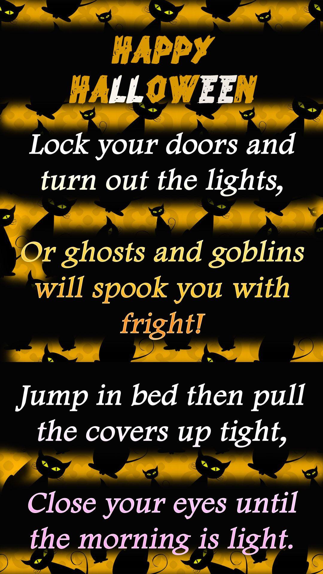 happy halloween poems   Happy Halloween Poem   Fall & Halloween ...