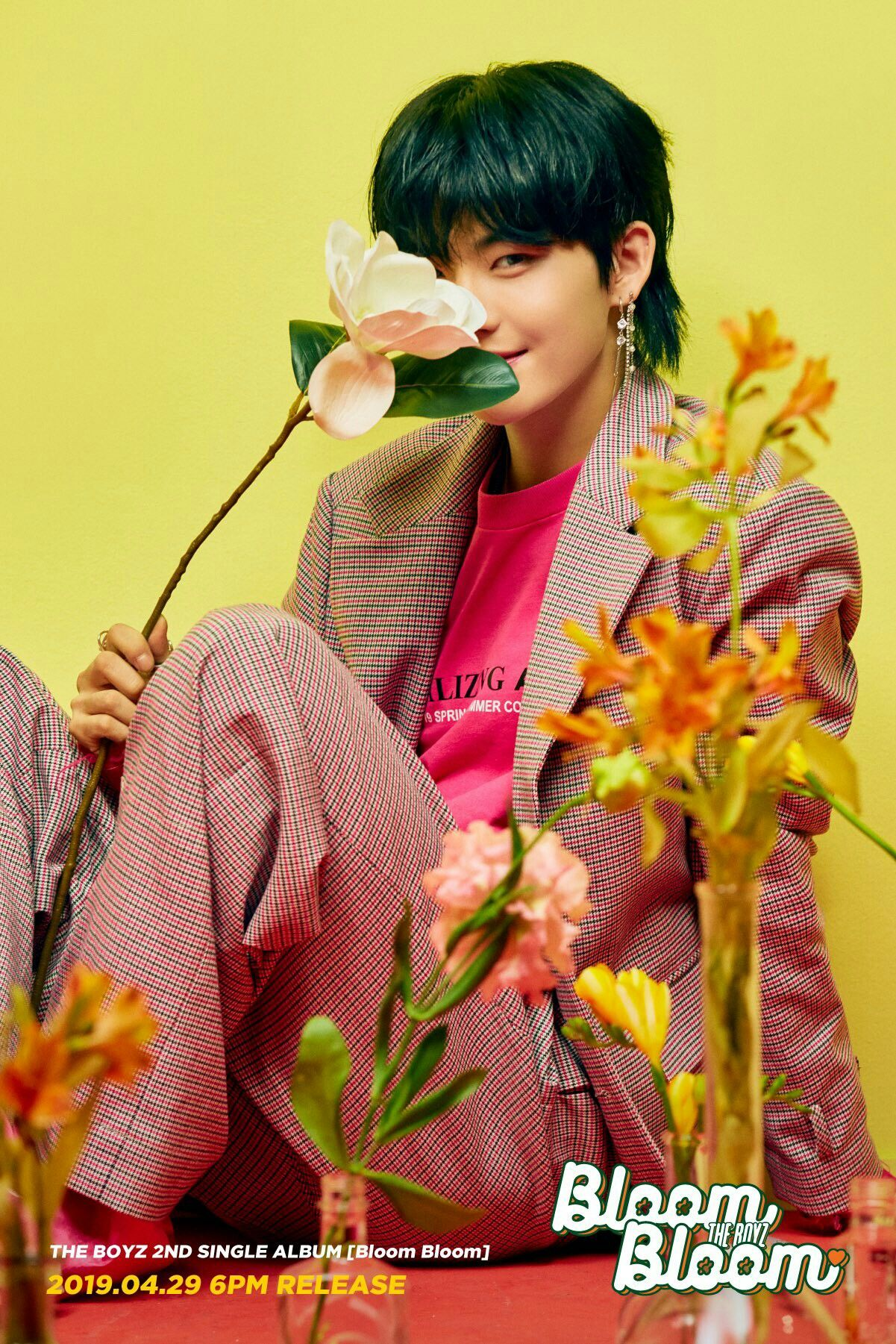 The Boyz 2nd Single Album Bloom Bloom Concept Photo Hwall