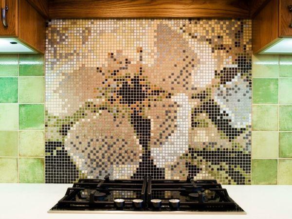 Küchenrückwand Ideen- Fliesen an der Küchenrückwand haben mit - glas küchenrückwand fliesenspiegel