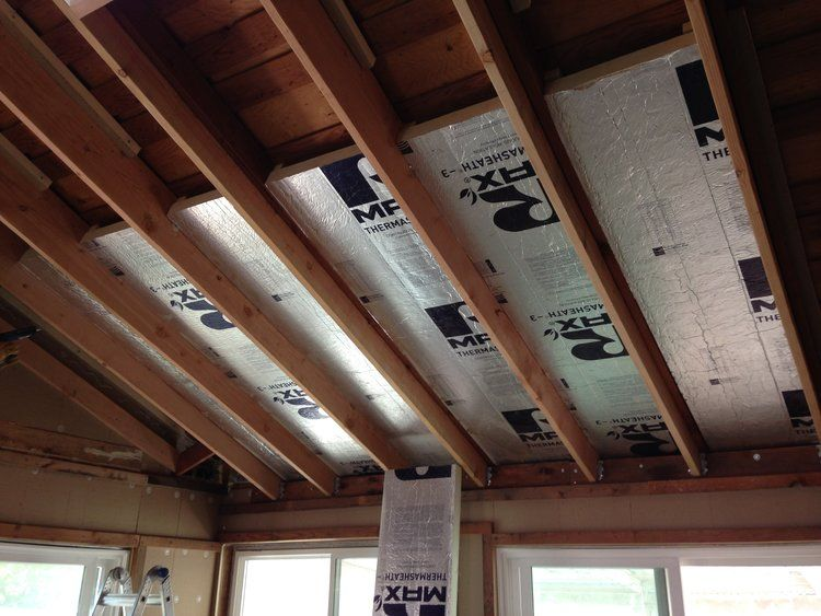 How We Turned Our House Into A Giant Foam Box Part Ii Ceiling Insulation Frugal Happy