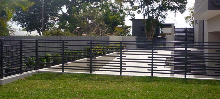 Best Aluminium Tubular Balustrade Fencing Landscape Design 400 x 300