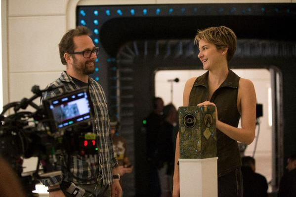 Behind the scenes of insurgent!