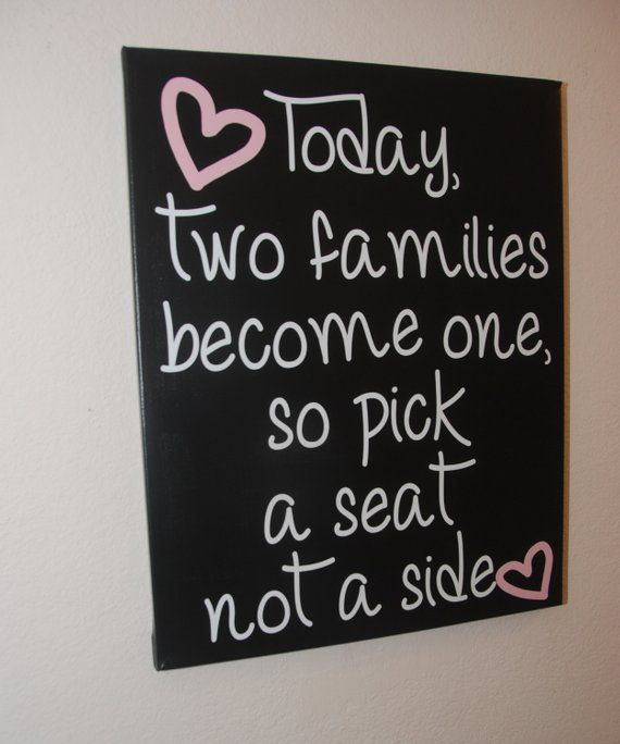 Custom Canvas Quote Wall Art Sign For Wedding Today As Two
