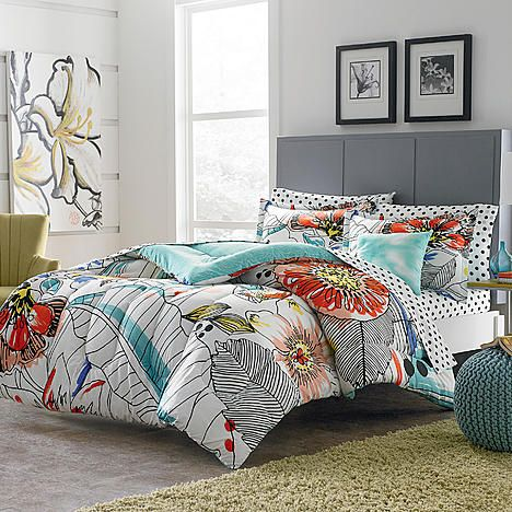 Colormate Complete Bed Set – Sketch Floral