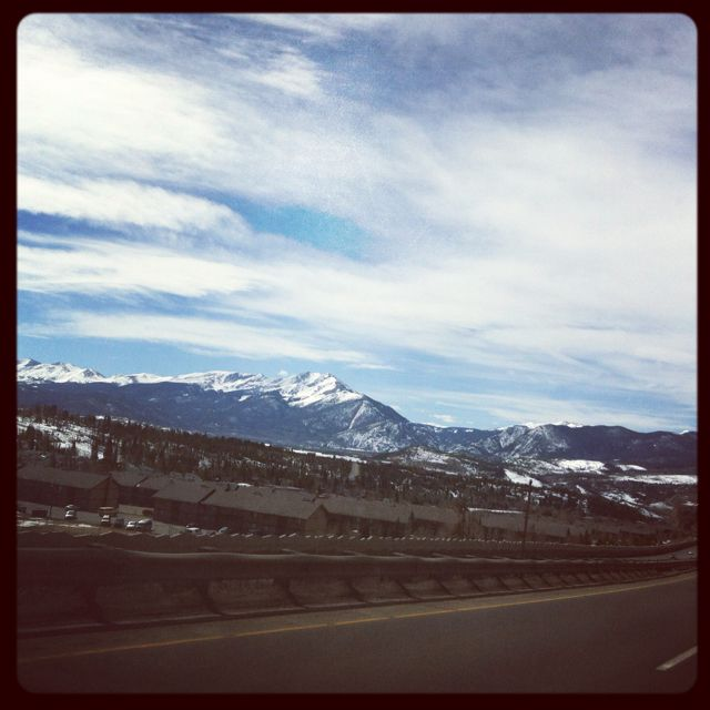 Drive to Breck!!! Cant wait to do this!!