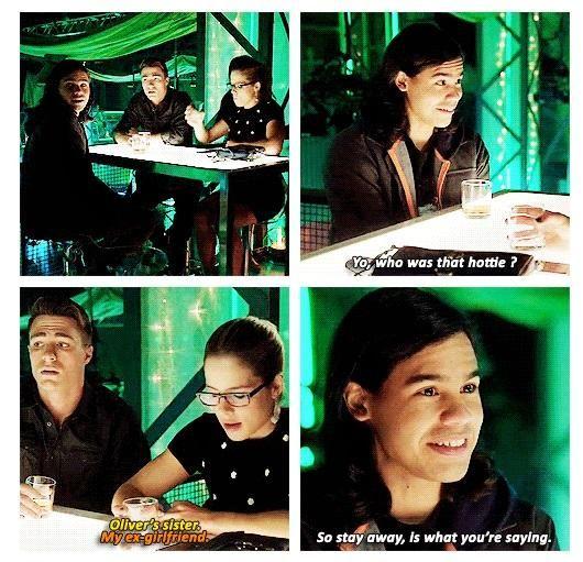 Arrow - Roy, Cisco and Felicity #3.8 #Season3