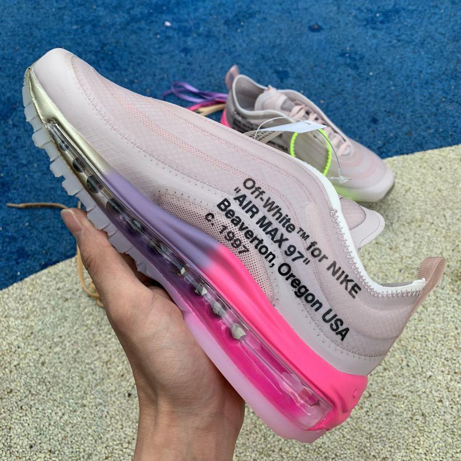 Off White x Nike Air Max 97 Serena Williams Queen Elemental