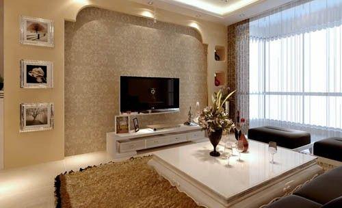 احدث افكار تصاميم ديكورات حوائط وجدران مودرن بالصور سحر الكون Tv Wall Decor Indian Living Rooms Elegant Living Room