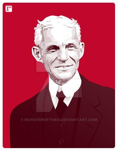 Henry Ford by monsteroftheid on DeviantArt