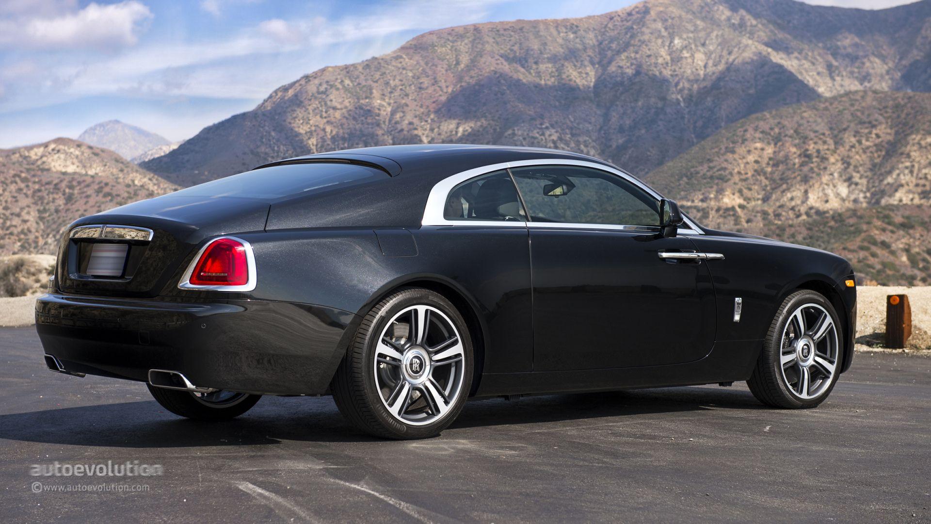 Rolls Royce Wraith is car is HOT