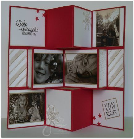 mini flip book faltkarte weihnachten fotogeschenk f r oma. Black Bedroom Furniture Sets. Home Design Ideas