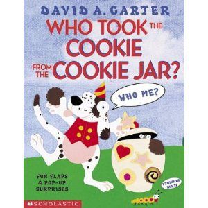 Who Stole The Cookie From The Cookie Jar Book Who Took The Cookie From The Cookie Jardavid Carter  Story Time