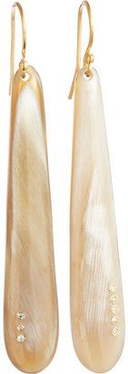 ShopStyle: Monique Péan Buffalo Horn Earrings