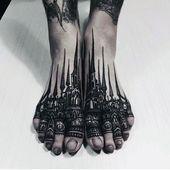 90 Fuß Tattoos für Männer – Schritt in männliche Design-Ideen 90 Fuß Tattoos für Männer …