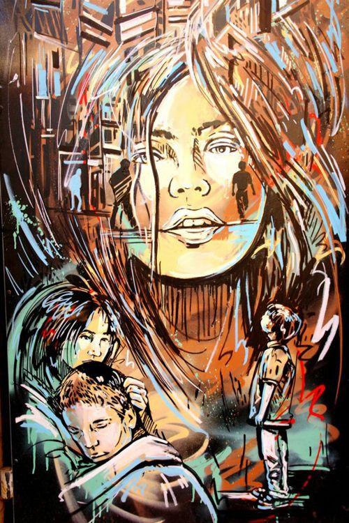 Grafite: as paredes ilustradas por Alice Pasquini (87 imagens)