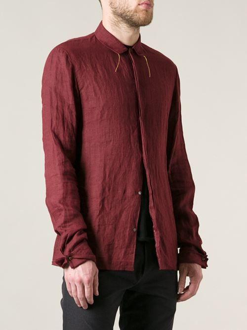 Men - Ma+ Fitted Shirt - Hostem Shop